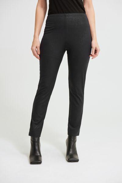 Joseph Ribkoff Black Flared Legging Style 213086