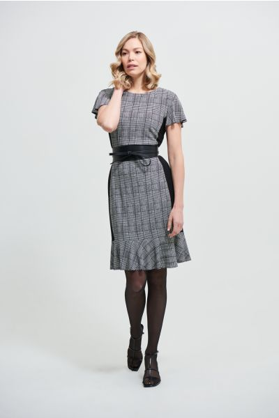 Joseph Ribkoff Black/White Dress Style 213125
