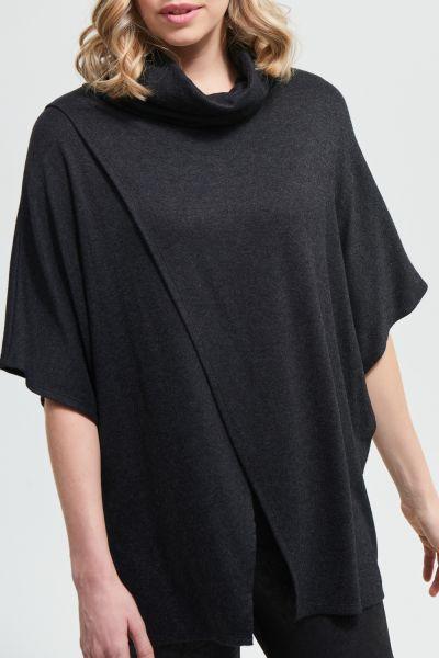 Joseph Ribkoff Charcoal Grey Top Style 213282