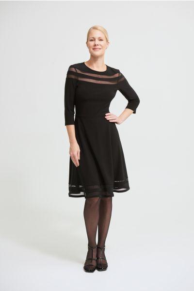 Joseph Ribkoff Black Dress Style 213289