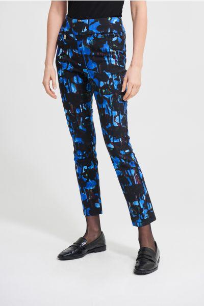 Joseph Ribkoff Black/Royal Sapphire Pant Style 213297