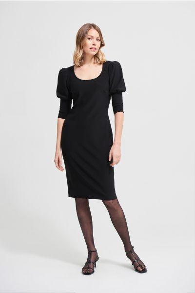 Joseph Ribkoff Black Dress Style 213355
