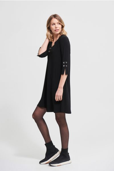 Joseph Ribkoff Black Dress Style 213361