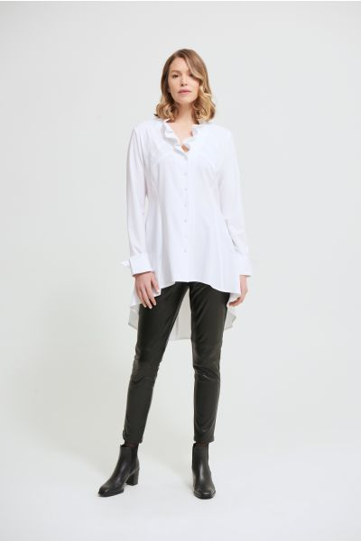 Joseph Ribkoff Optic White Blouse Style 213364