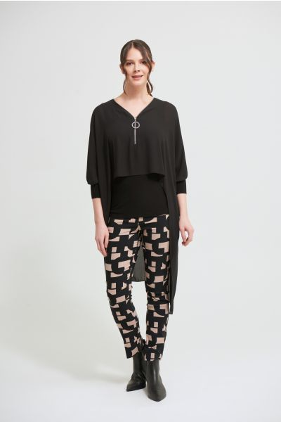 Joseph Ribkoff Black Tunic Style 213369