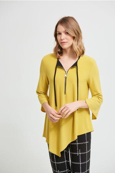 Joseph Ribkoff Lemongrass Tunic Style 213384