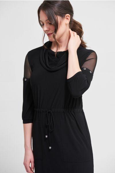 Joseph Ribkoff Black Dress Style 213458