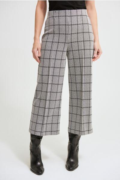 Joseph Ribkoff Black/Vanilla Pant Style 213615