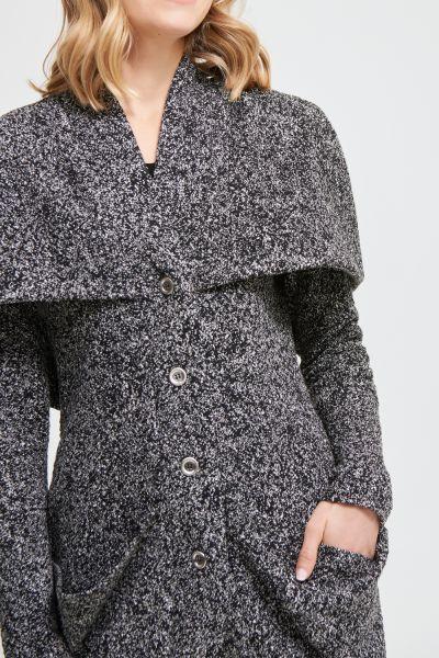 Joseph Ribkoff Black/White Coat Style 213648