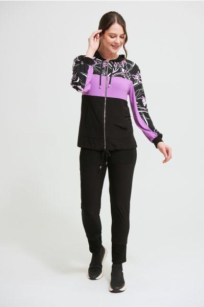 Joseph Ribkoff Black/Multi Jacket Style 213459