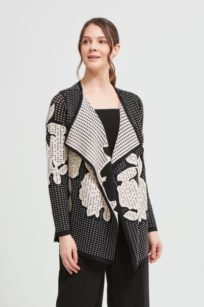 Joseph Ribkoff Black/Gold Jacket Style 213940