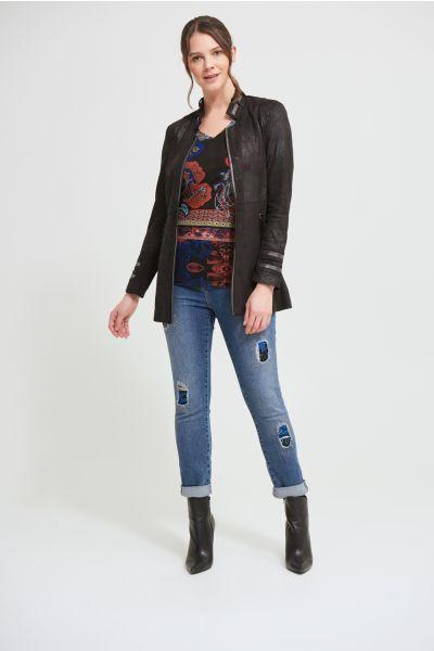 Joseph Ribkoff Black Jacket Style 213948