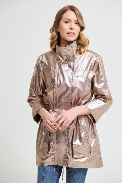 Joseph Ribkoff Light Gold Shimmery Jacket Style 213968