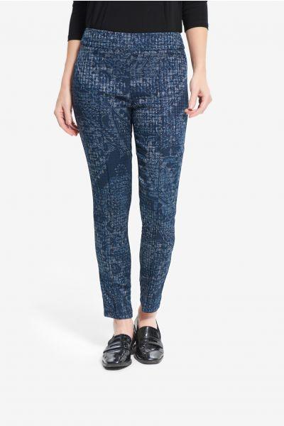 Joseph Ribkoff Blue/Multi Pants Style 214101