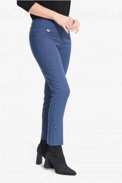 Joseph Ribkoff Mineral Blue Slit Detail Pants Style 214139