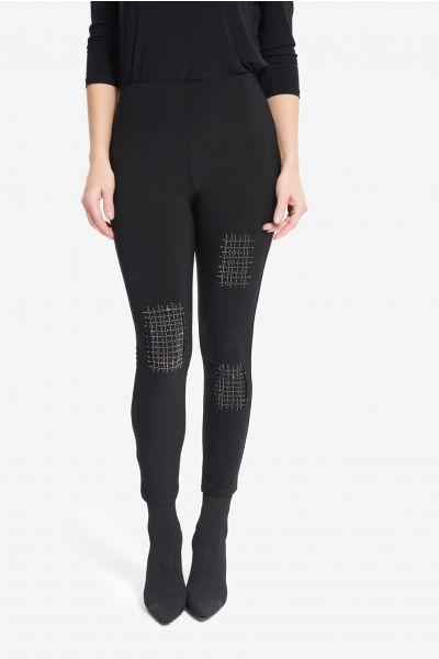 Joseph Ribkoff Black Glitter Jean Style 214220