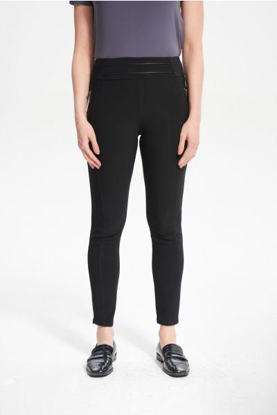 Joseph Ribkoff Black Pant Style 214276 - Main Image 1