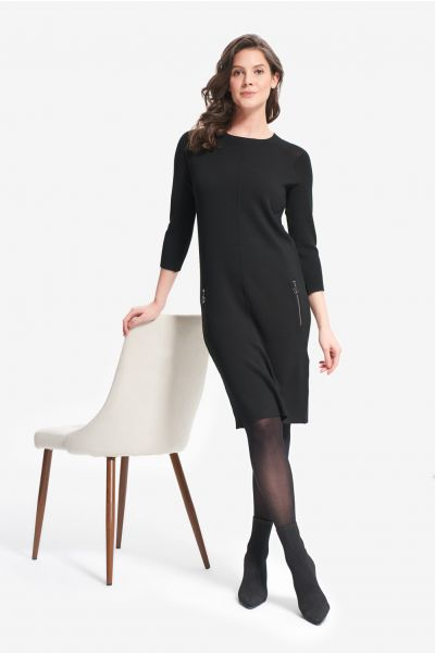 Joseph Ribkoff Black Dress Style 214935