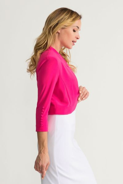 Joseph Ribkoff Hyper Pink Cover Up Style 32083