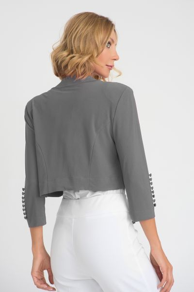 Joseph Ribkoff Grey Frost Cover Up Style 32083