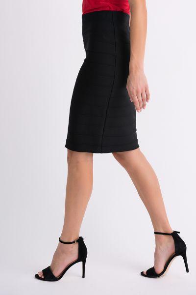 Joseph Ribkoff Black Skirt Style 32330