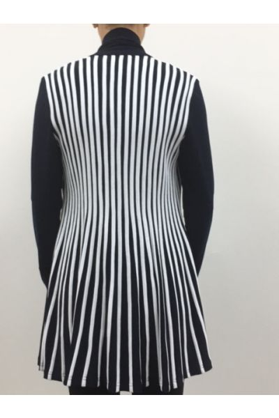 Joseph Ribkoff Navy/White Cover Up Style 161966