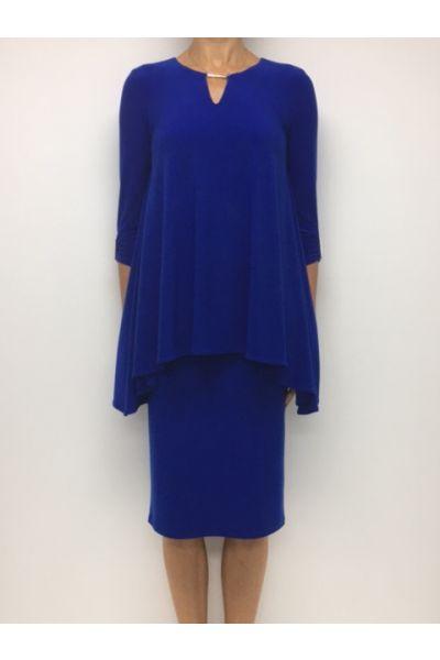 Joseph Ribkoff Royal Sapphire  Dress Style 163018