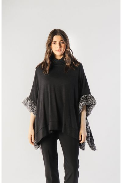Joseph Ribkoff Charcoal Grey Cover-Up Style 213026