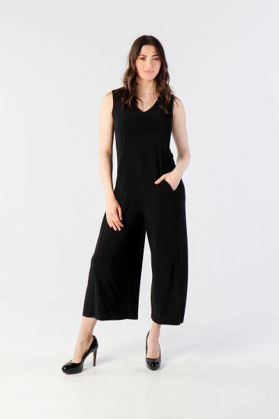 Joseph Ribkoff Black Jumpsuit. Style 202437 - 1