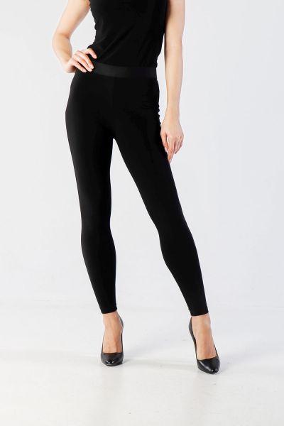 Joseph Ribkoff Black Pants Style 211110 - 1