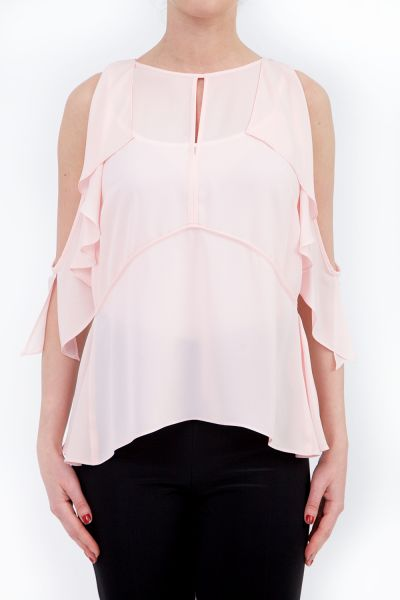 Joseph Ribkoff Powder Pink Top Style 182269