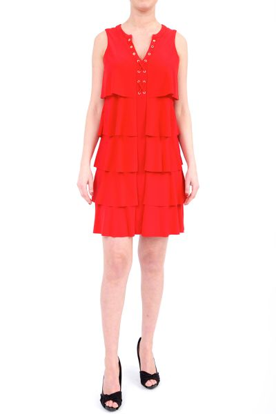 Joseph Ribkoff Red Dress Style 182016