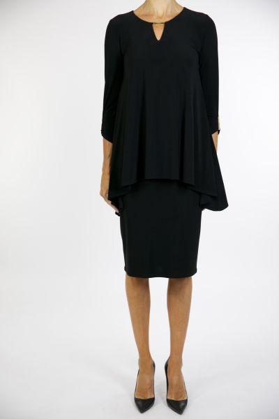 Joseph Ribkoff Black Dress Style 163018