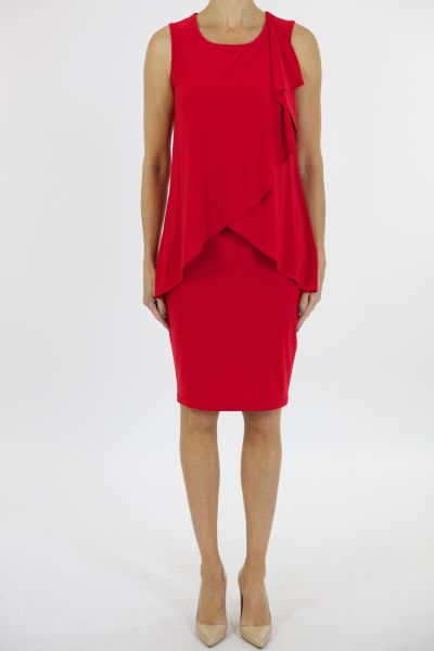 Joseph Ribkoff Dress Style 163011 Red