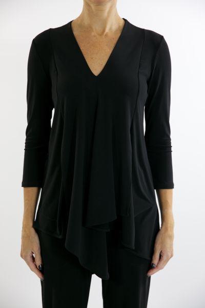 Joseph Ribkoff Black Tunic Style 161066