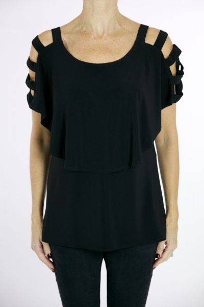 Joseph Ribkoff Black Tunic Style 171069