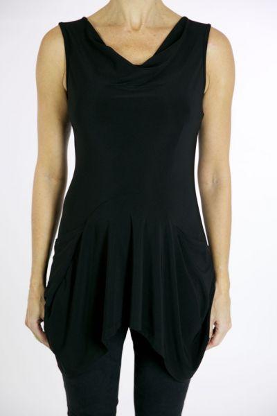 Joseph Ribkoff Black Tunic Style 171496