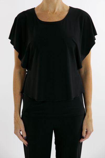 Joseph Ribkoff Top Style 162101 - Black