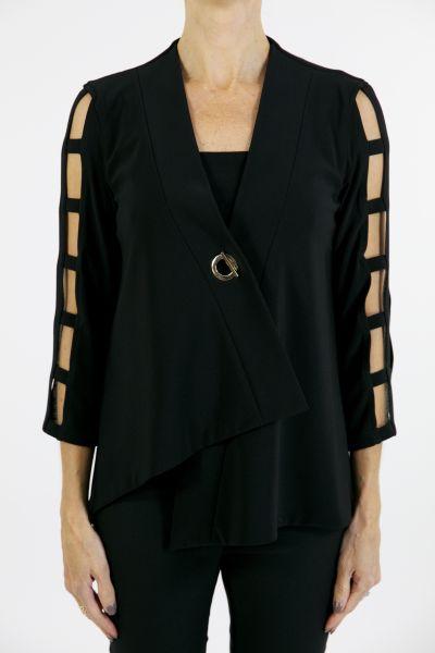 Joseph Ribkoff Black Jacket  Style 163145